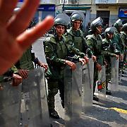 VENEZUELAN POLITICS / POLITICA EN VENEZUELA<br /> Guardia Nacional Bolivariana de Venezuela, Caracas - Venezuela 2009 / National Guard of Venezuela, Caracas - Venezuela 2009<br /> (Copyright © Aaron Sosa)