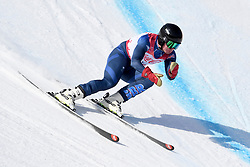 WHITLEY James LW5/7-3 GBR competing in the Para Alpine Skiing Downhill at the PyeongChang2018 Winter Paralympic Games, South Korea