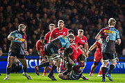 Billy Vunipola (Back Row) (Saracens) during the Gallagher Premiership Rugby match between Harlequins and Saracens at Twickenham Stoop, Twickenham, United Kingdom on 6 October 2018.