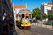 Tram 24, Lisbon, Portugal