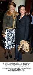 Left to right, sisters AMBER NUTTALL and GYTHA NUTTALL, at a party in London on 28th October 2003.PNU 39