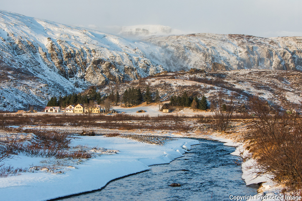 January 05 - Kvísker is the most easterly in Öræfi in Austur-Skatfafellsýsla. Known for its 7 brothers and sister who made lots of observations and documentations about nature.<br /> <br /> Kvísker