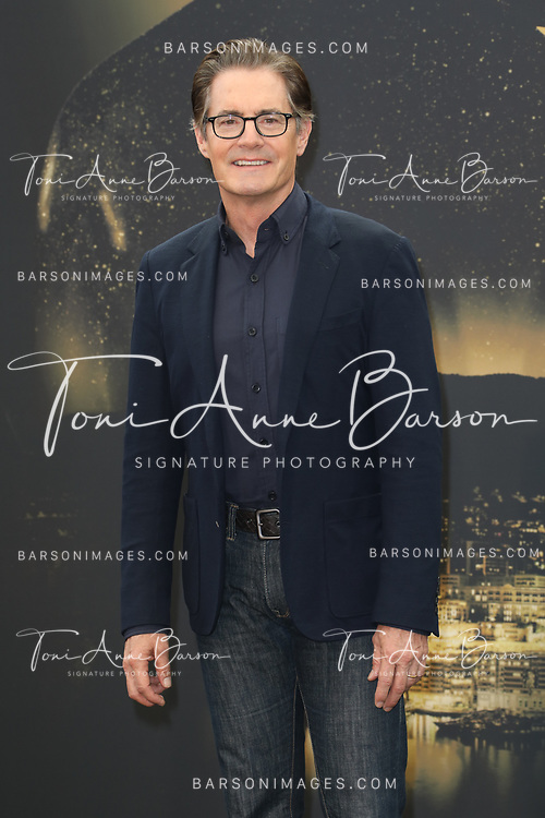 "MONTE-CARLO, MONACO - JUNE 19:  Kyle MacLachlan attends ""Twin Peaks"" photocall on June 19, 2017 at the Grimaldi Forum in Monte-Carlo, Monaco.  (Photo by Tony Barson/FilmMagic)"