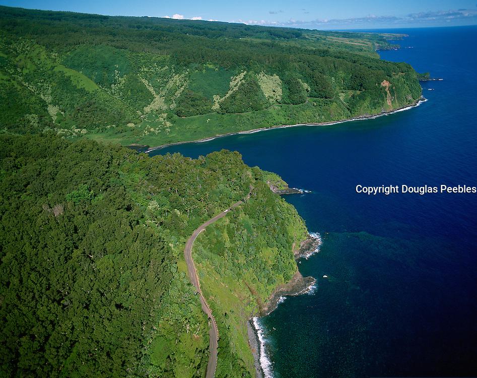 Road of Hana, Hana, Maui, Hawaii, USA<br />