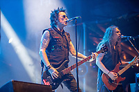 2019-06-05 | Norje, Sweden: Rachel Bolan performing at Sweden Rock Festival ( Photo by: Roger Linde | Swe Press Photo )<br /> <br /> Keywords: Sweden Rock Festival, Norje, Festival, SRF, Skid Row