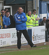 Morton boss Kenny Shiels - Greenock Morton v Dundee, SPFL Championship at Cappielow<br /> <br />  - &copy; David Young - www.davidyoungphoto.co.uk - email: davidyoungphoto@gmail.com