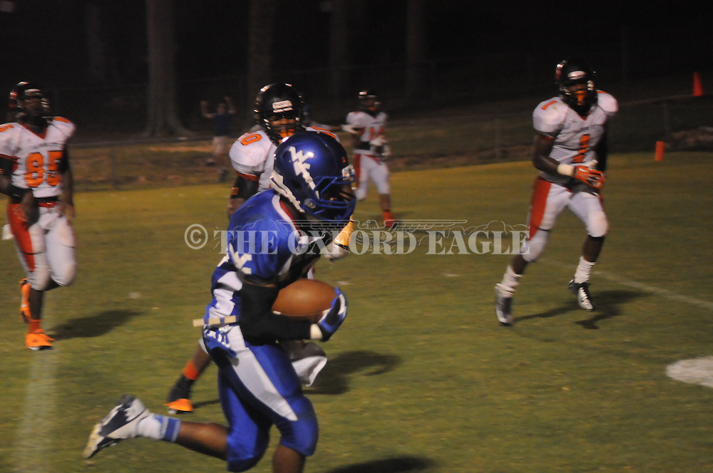 Water Valley vs. Calhoun City in Water Valley, Miss. on Friday, September 6, 2013. Water Valley won 42-6.