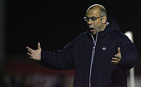 Photo: Paul Thomas.<br /> Bury v Weymouth. The FA Cup. 21/11/2006.<br /> <br /> Garry Hill, Weymouth manager.