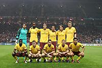 20101123: BRAGA, PORTUGAL - SC Braga vs Arsenal FC: UEFA Champions League 2010/2011 Group H Round 5. In picture: Arsenal starting team. PHOTO: Pedro Benavente/CITYFILES
