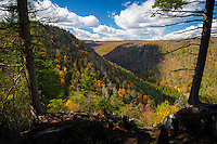 Scenic view, Blackwater Falls State Park, David, West Virginia.
