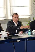 Conferenza stampa per la presentazione del campionato Under 20 che si terr&agrave; a Lignano Sabbiadoro<br /> Nella foto: Simone Pianigiani<br /> Agenzia Ciamillo/Castoria