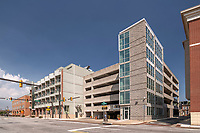 Exterior Photo of WHA Parking Garage in Baltimore MD by Jeffrey Sauers of Commercial Photographics
