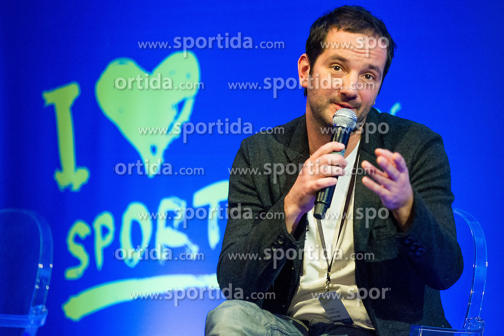 Zoran Gabrijan of Futura DDB during sports marketing and sponsorship conference Sporto 2012, on November 26, 2012 in Hotel Slovenija, Congress centre, Portoroz / Portorose, Slovenia. (Photo By Vid Ponikvar / Sportida.com)