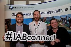 Jack Gilligan, Paul McPartlin from MEC, Kevin Gordon from MEC.