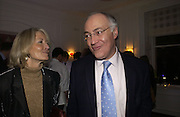 Sandra and Michael Howard. Olga Polizzi and Rocco Forte host a party to celebrate the re-opening of Brown's Hotel  after a  £19 million renovation. Albermarle St. London. 12 December 2005. ONE TIME USE ONLY - DO NOT ARCHIVE  © Copyright Photograph by Dafydd Jones 66 Stockwell Park Rd. London SW9 0DA Tel 020 7733 0108 www.dafjones.com