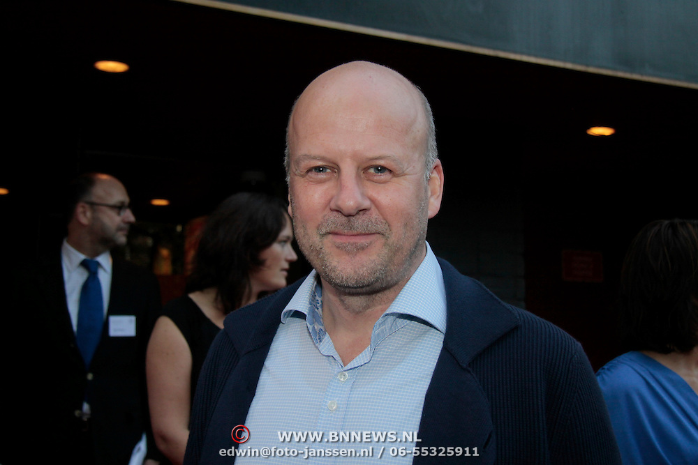 NLD/Utrecht/20110927 - 31 ste NFF-Uitreiking Lezen en Schrijven Film Awards door Prinses Laurentien, Diederik van Vleuten