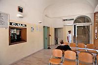Vico del Gargano (FG) aprile 2013.Ingresso del presidio medico