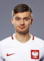 Uefa - World Cup Fifa Russia 2018 Qualifier / <br /> Poland National Team - Preview Set - <br /> Karol Linetty