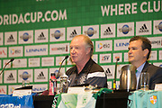 01/07/2018. Orlando, USA.  <br /> Press event to launch the 2018 Florida Cup.<br /> <br /> Rangers Assistant Manager Jimmy Nicol. <br /> <br /> At  Universal Resort, Orlando.<br /> Pic: Mark Davison /PLPA