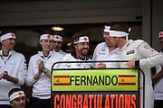 October 8, 2015: Russian GP 2015: Fernando Alonso (SPA), McLaren Honda, Jenson Button (GBR), McLaren Honda