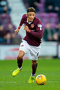 Sean Clare (#8) of Heart of Midlothian FC on the ball during the Ladbrokes Scottish Premiership match between Heart of Midlothian FC and Aberdeen FC at Tynecastle Stadium, Edinburgh, Scotland on 29 December 2019.