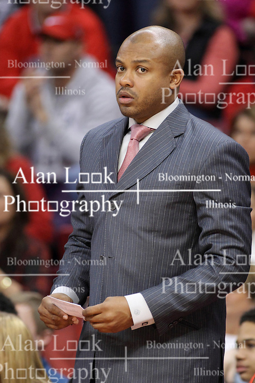 14 February 2015:   Torrey Ward during an NCAA MVC (Missouri Valley Conference) men's basketball game between the Wichita State Shockers and the Illinois State Redbirds at Redbird Arena in Normal Illinois