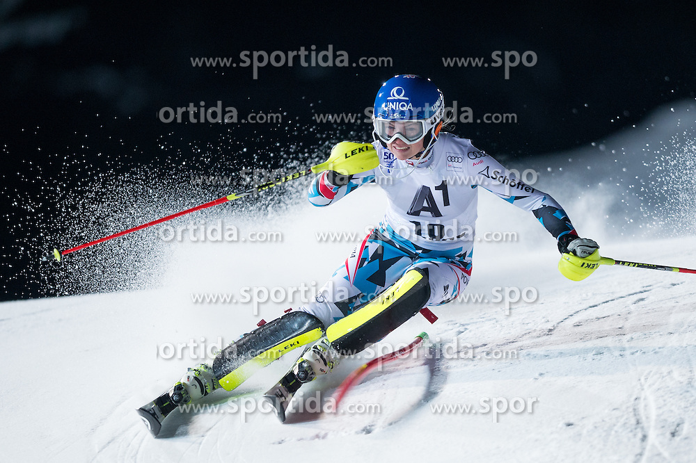 Bernadette Schild (AUT) during the 7th Ladies' Slalom of Audi FIS Ski World Cup 2016/17, on January 10, 2017 at the Hermann Maier Weltcupstrecke in Flachau, Austria. Photo by Martin Metelko / Sportida