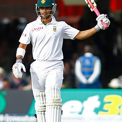 16/08/2012 London, England. South Africa's Jean-Paul Duminy celebrates a half century during the third Investec cricket international test match between England and South Africa, played at the Lords Cricket Ground: Mandatory credit: Mitchell Gunn