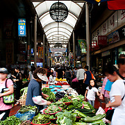 Commerce and Food at Gupo Market, Busan, South Korea