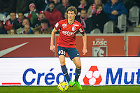 Benjamin Pavard - 15.03.2015 - Lille / Rennes - 29e journee Ligue 1<br /> Photo : Andre Ferreira / Icon Sport