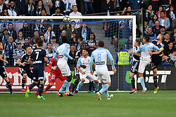 December 17, 2016 - Melbourne, Victoria, Australia - TIMOTHY CAHILL (17) of Melbourne City heads a goal in the round 11 match of the A-League between Melbourne City and Melbourne Victory at AAMI Park, Melbourne, Australia. Victory won 2-1 (Credit Image: © Sydney Low via ZUMA Wire)