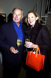 SIR TERENCE & LADY CONRAN at an exhibition in London on 19th September 2000.OHB 69