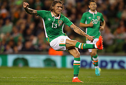 Ireland's Jeff Hendrick - Mandatory by-line: Ken Sutton/JMP - 31/08/2016 - FOOTBALL - Aviva Stadium - Dublin,  - Republic of Ireland v Oman -