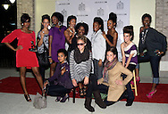 The models from the 2010 Fall Fashion Preview show gather outside Joey Eric House of Style in The Greene, Saturday, September 25, 2010.