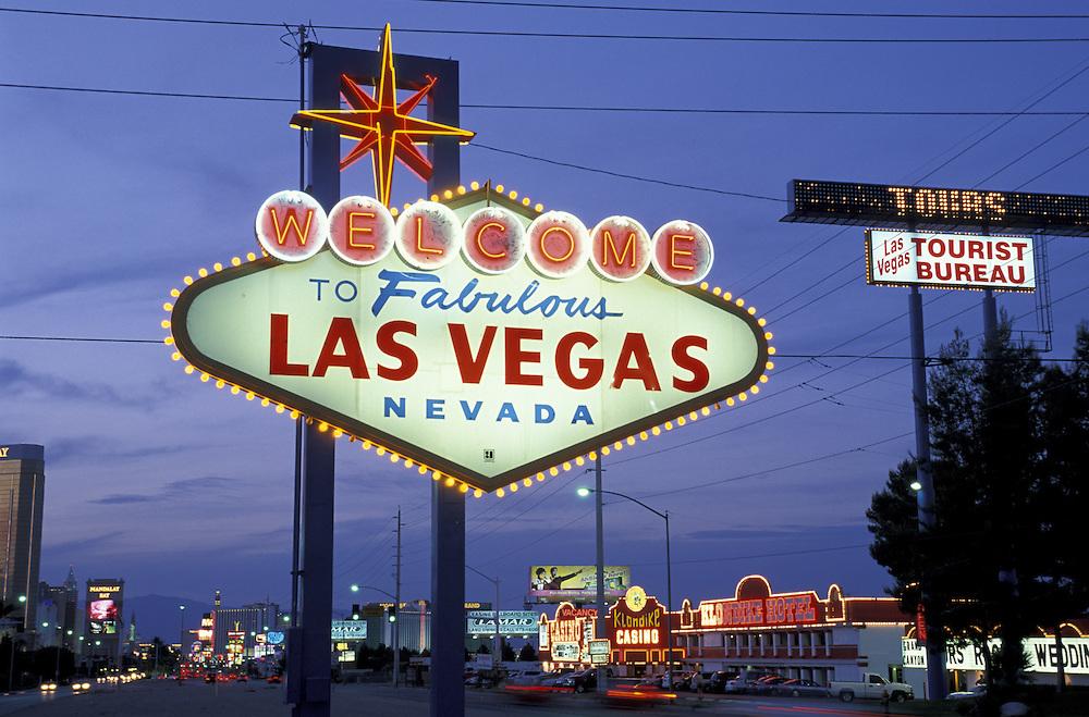 Las Vegas Blvd..Las Vegas.Nevada.USA