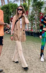 Gigi Hadid hangs out with friends backstage at Coachella . 14 Apr 2019 Pictured: Gigi Hadid. Photo credit: Marksman / MEGA TheMegaAgency.com +1 888 505 6342