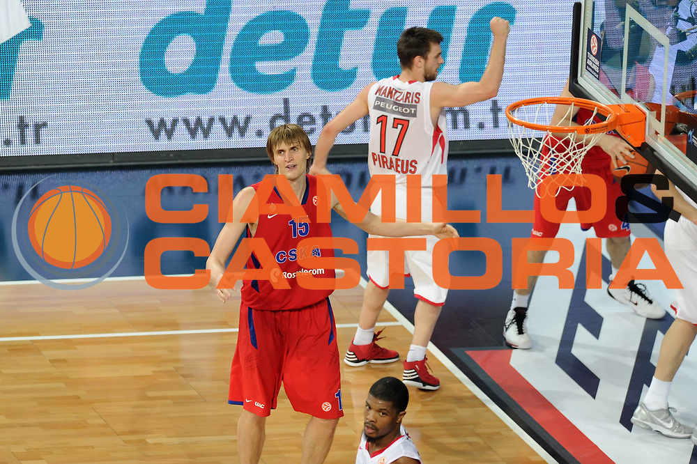 DESCRIZIONE : Istanbul Eurolega Eurolegue 2011-12 Final Four Finale Final CSKA Moscow Olympiacos<br /> GIOCATORE : Andrei Kirilenko<br /> SQUADRA : CSKA Moscow <br /> EVENTO : Eurolega 2011-2012<br /> GARA : CSKA Moscow Olympiacos<br /> DATA : 13/05/2012<br /> CATEGORIA : <br /> SPORT : Pallacanestro<br /> AUTORE : Agenzia Ciamillo-Castoria/GiulioCiamillo<br /> Galleria : Eurolega 2011-2012<br /> Fotonotizia : Istanbul Eurolega Eurolegue 2010-11 Final Four Finale Final CSKA Moscow Olympiacos<br /> Predefinita :