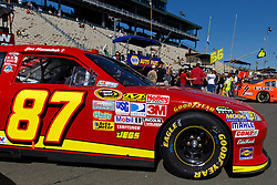 June 26, 2011; Sonoma, CA, USA;  The car of NASCAR Sprint Cup Series driver Joe Nemechek (not pictured) on pit road before the Toyota/Save Mart 350 at Infineon Raceway.