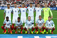 England Team Line Up Formazione <br /> Marseille 11-06-2016 Stade Velodrome Footballl Euro2016 England - Russia  / Inghilterra - Russia Group Stage Group B. Foto Massimo Insabato / Insidefoto