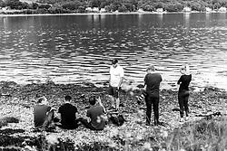 Joseph Meredith, Patrick Bethwell, Ben Reynolds, Alex James, Robbie Stephenson, Taylor Bragg,  - Ryan Hiscott/JMP - 22/06/19 - STOCK - JMP Scotland Holiday - Scotland - JMP Scotland Holiday