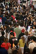 Takeshita Street in Harajuku Tokyo on a very crowded shopping day