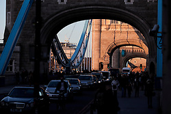 UK ENGLAND LONDON 2FEB14 - Tower Bridge, central London.<br /> <br /> Built between 1886 and 1894, Tower Bridge was the largest and most sophisticated bascule bridge ever completed.<br /> <br /> <br /> <br /> jre/Photo by Jiri Rezac<br /> <br /> <br /> <br /> © Jiri Rezac 2014