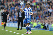 Brighton defender, full back, Liam Rosenior (23) during the Sky Bet Championship match between Brighton and Hove Albion and Burnley at the American Express Community Stadium, Brighton and Hove, England on 2 April 2016.