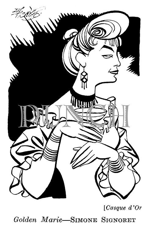 Casque d'Or ;  Simone Signoret