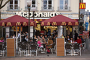 McDonald's in Luxembourg City Center.