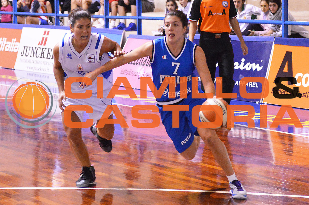 DESCRIZIONE : Orvieto Nazionale Femminile Italia Orvieto<br /> GIOCATORE : Valeria Battisodo<br /> CATEGORIA : palleggio penetrazione<br /> SQUADRA : Nazionale Femminile Italia<br /> EVENTO : amichevole<br /> GARA : Nazionale Femminile Italia Orvieto<br /> DATA : 11/12/2012<br /> SPORT : Pallacanestro <br /> AUTORE : Agenzia Ciamillo-Castoria/GiulioCiamillo<br /> Galleria : Lega Basket A 2012-2013  <br /> Fotonotizia :  Orvieto Nazionale Femminile Italia Orvieto<br /> Predefinita :