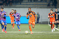 Jordan AYEW - 14.03.2015 - Lorient / Caen - 29eme journee de Ligue 1<br /> Photo : Vincent Michel / Icon Sport
