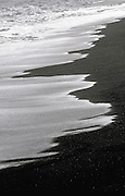 Black sand beach, HI