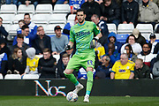 Leeds United goalkeeper Kiko Casilla (33) during the EFL Sky Bet Championship match between Birmingham City and Leeds United at St Andrews, Birmingham, England on 6 April 2019.
