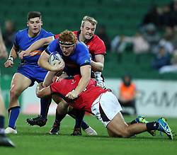 Western Force v Hong Kong Dragons - World Series Rugby at Nib Stadium in Perth, Western Australia. 10 Aug 2018 Pictured: Harry Scoble. Photo credit: FM/MEGA TheMegaAgency.com +1 888 505 6342
